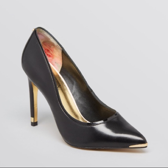 "11f84551788fe Ted Baker Sexy ""Thaya"" Leather Heels. M 5a88709b739d480d02ff004b"